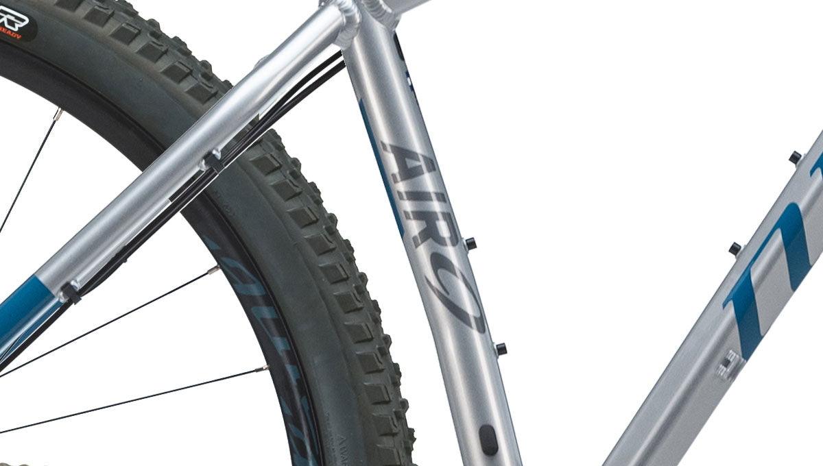 Close up of the AIR 9 Mountain Bike