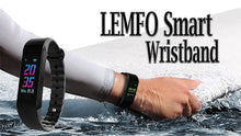 Load image into Gallery viewer, LEMFO Smart Fitness Bracelet for Android
