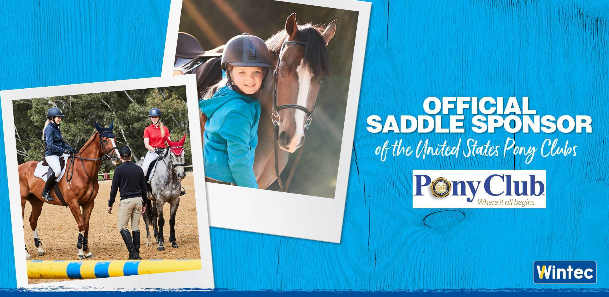 Official Saddle Sponsor of the United States Pony Clubs