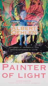 """Painter of Light"" Exhibition Poster"