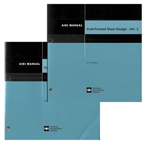 Cold-Formed Steel Design Manual, 2013 Edition - Printed Version (includes AISI S100-12 Specification and Commentary)