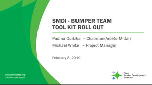 Bumper Systems Tool Kit Roll Out Presentation