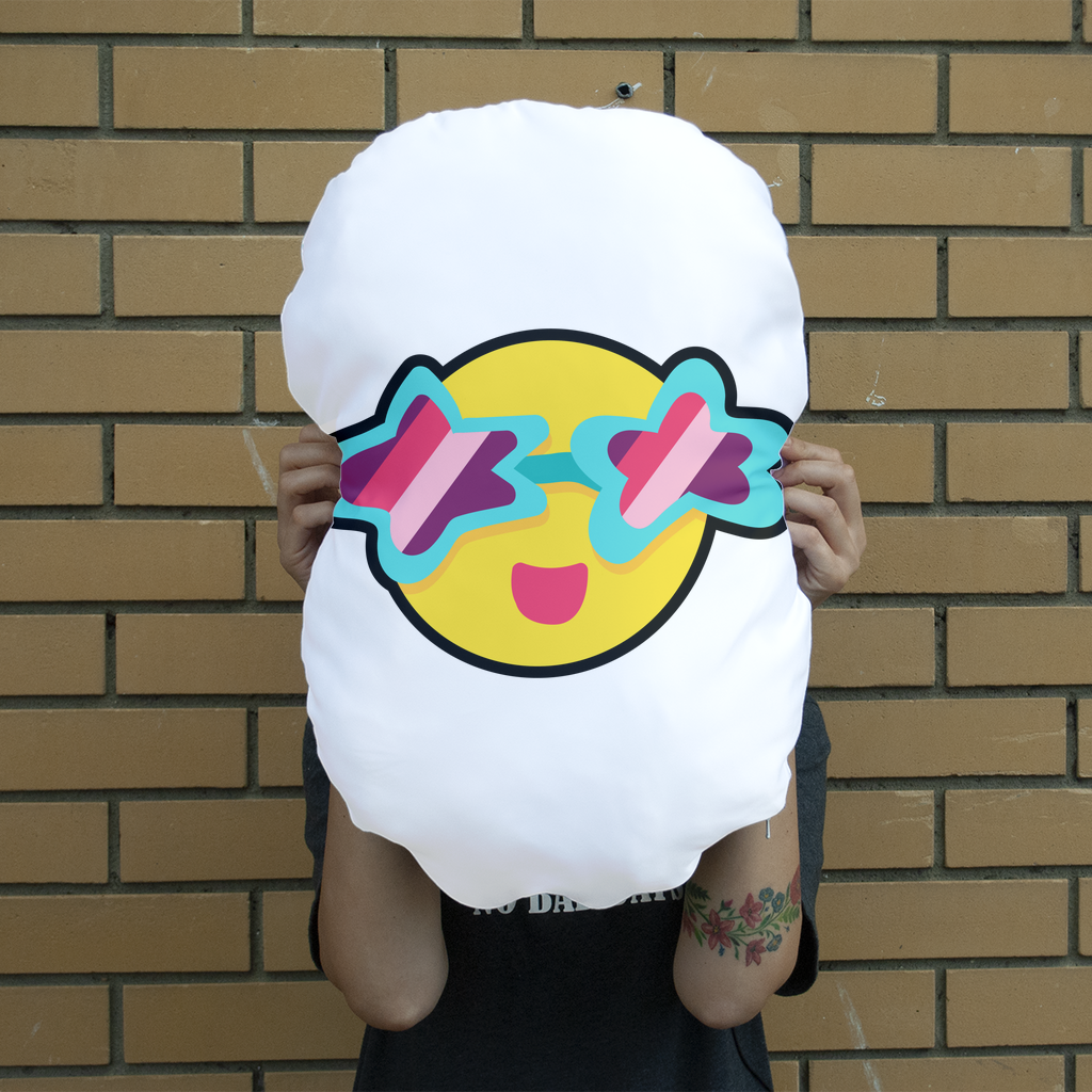 Tropical Summer Giant Face Cushion