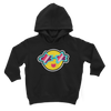 Tropical Summer Classic Kids Hoodie - BlackKohco