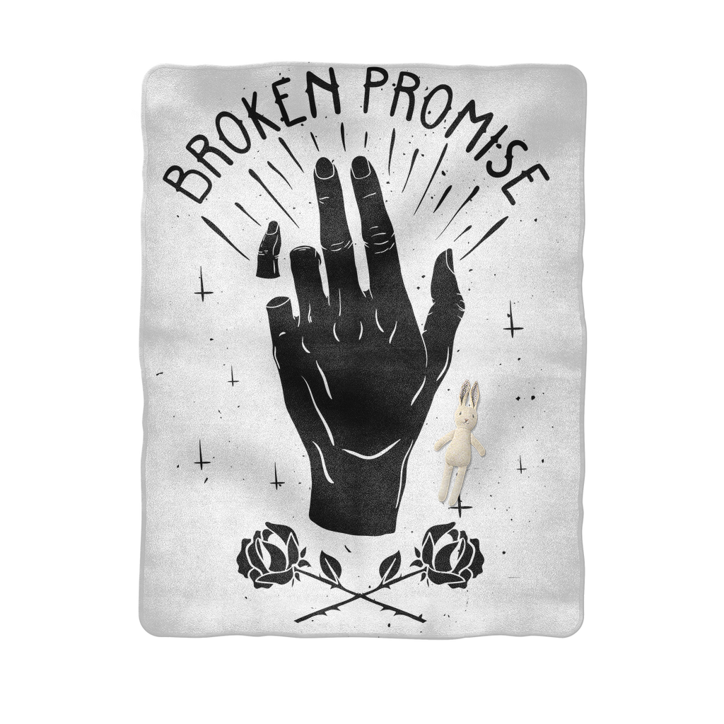 Broken Promise Sublimation Baby Blanket