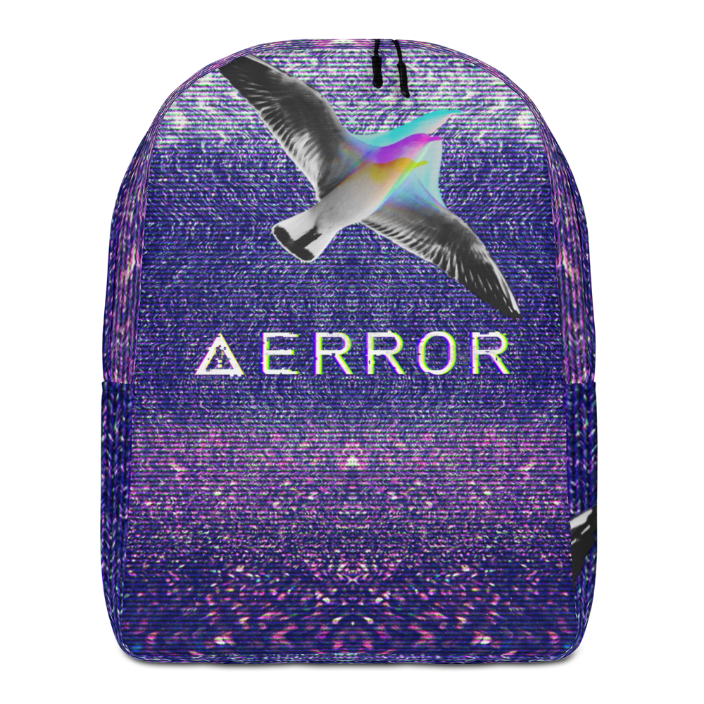 Glitch Error Minimalist Backpack