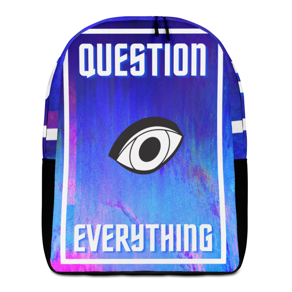 Question Anything Minimalist Backpack
