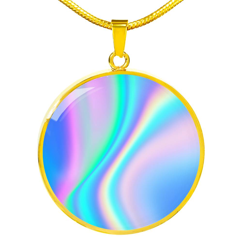 Colour Haze Necklace - BlackKohco