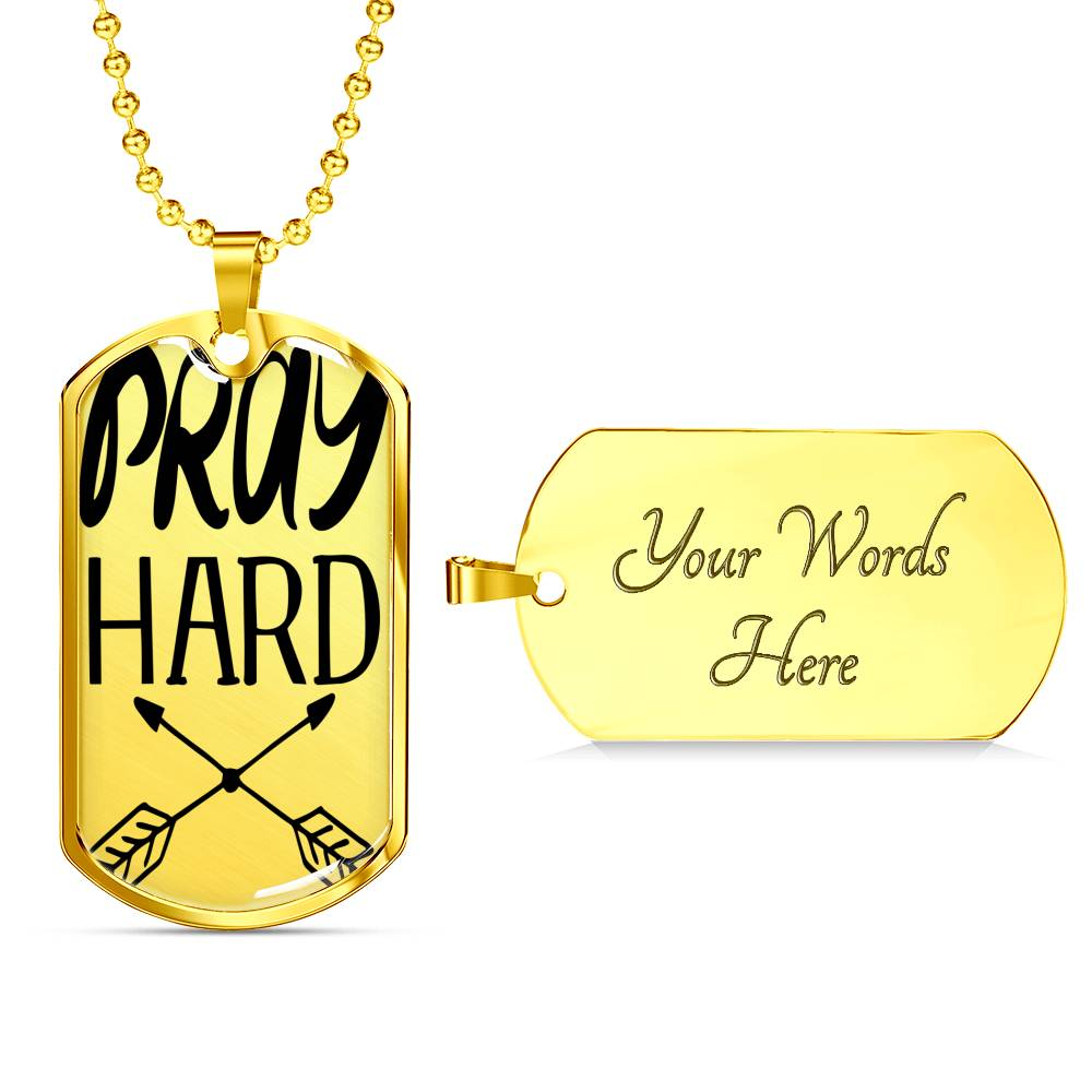 Pray Hard Chain - BlackKohco