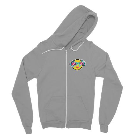 Tropical Summer Classic Adult Zip Hoodie