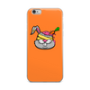 Zombie-Bunny-With-The-Carrot-in-His-Brain iPhone Case - BlackKohco