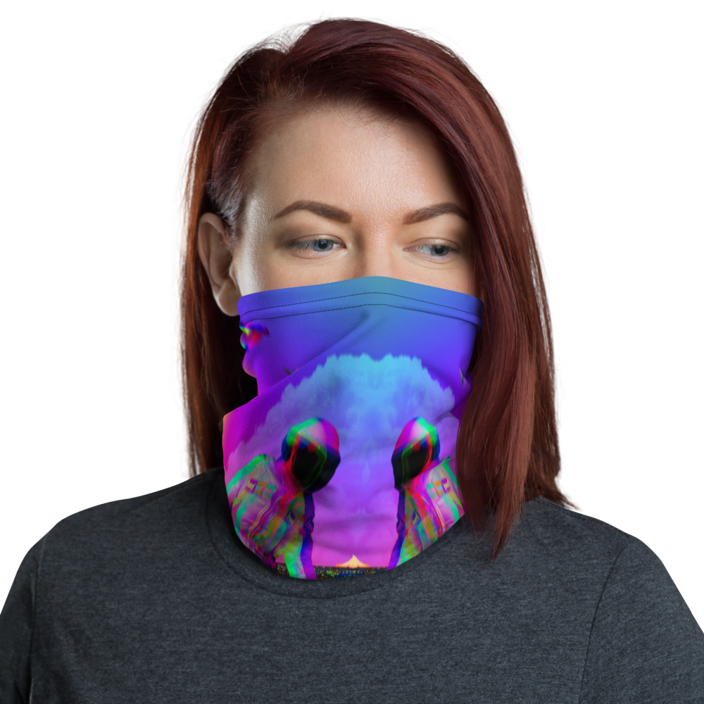 Hectic Space Neck Gaiter - BlackKohco