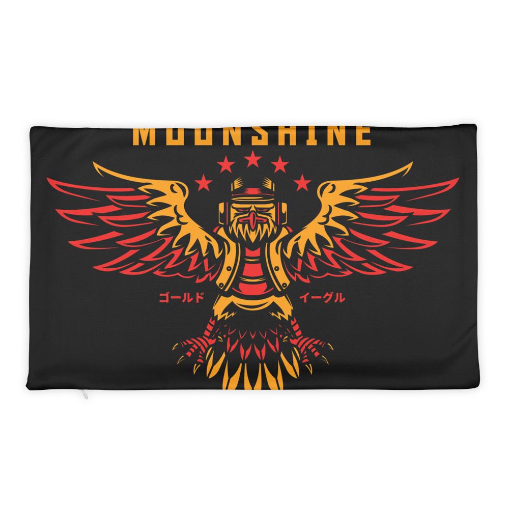 Moonshine Basic Pillow Case only - BlackKohco