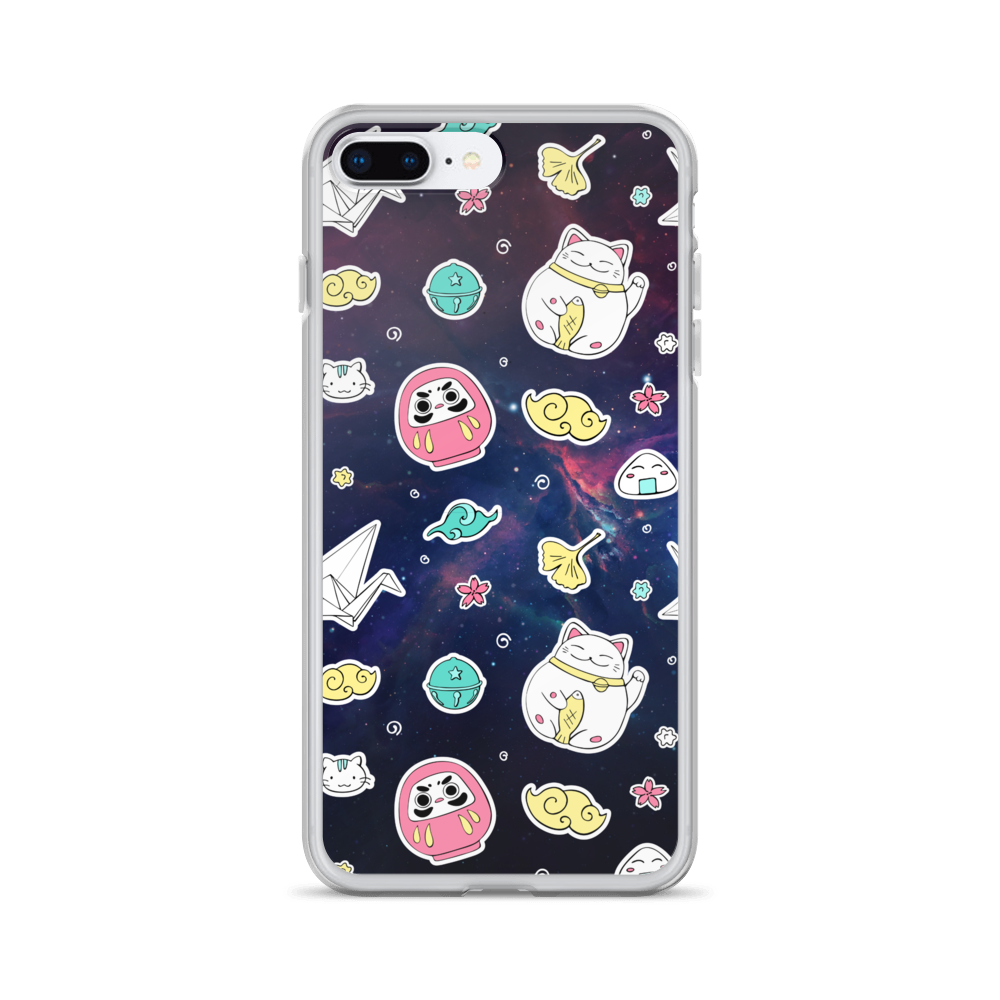 All In Space Galaxy iPhone Case - BlackKohco