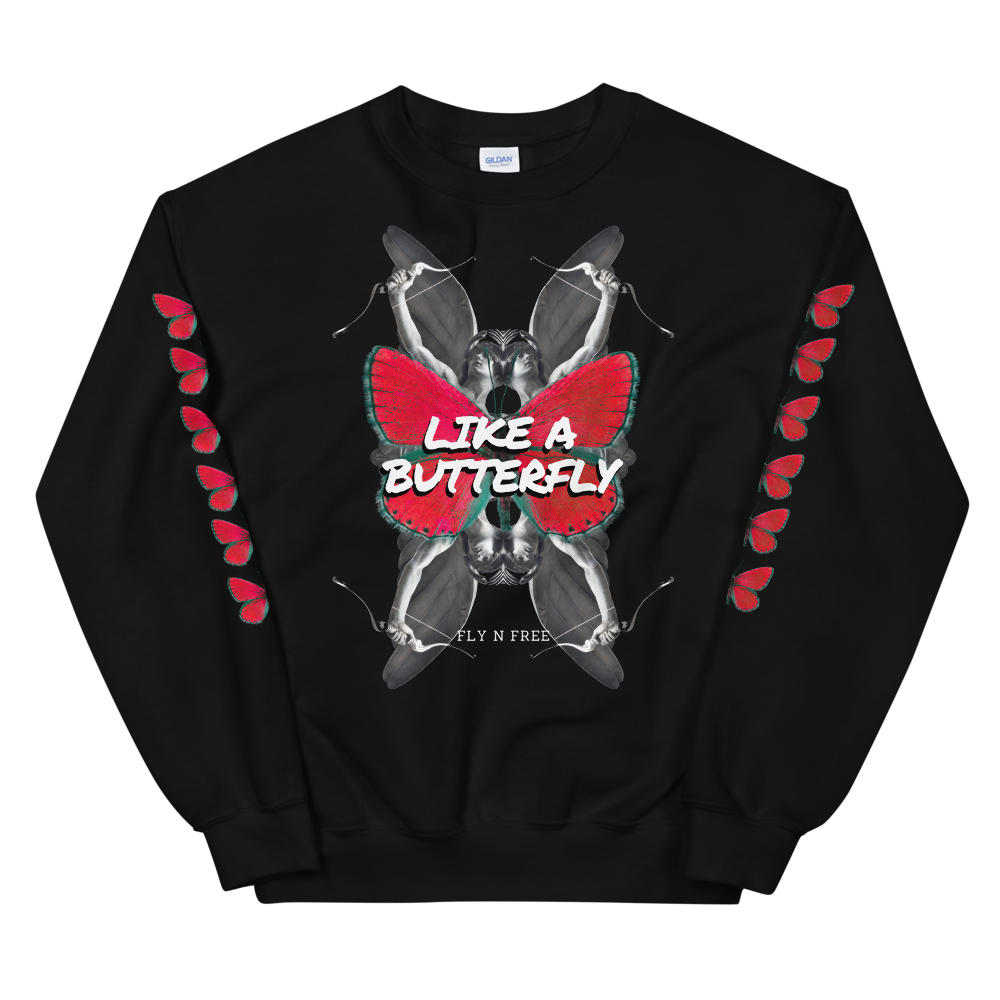 Like A Butterfly Unisex Sweatshirt