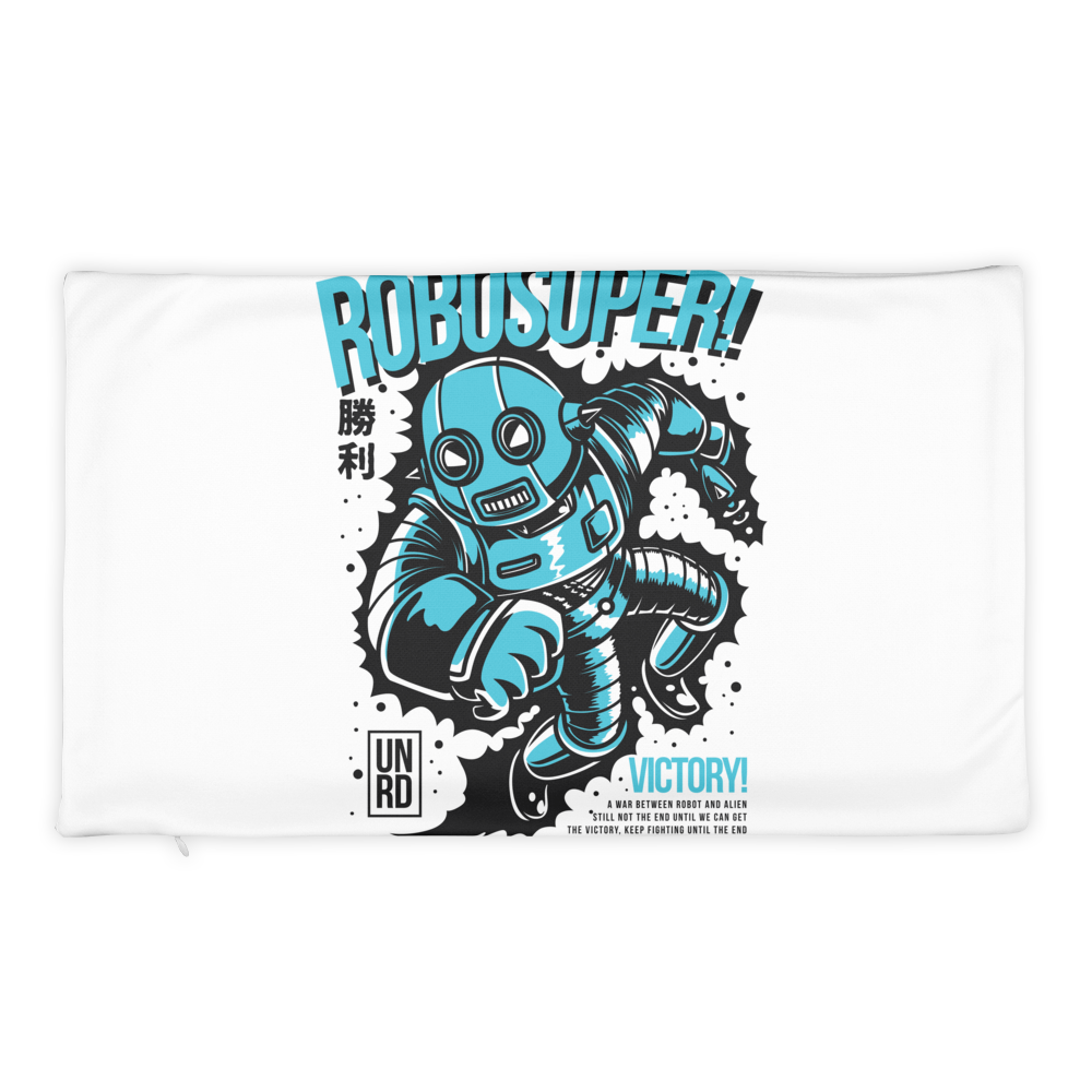 Robosuper Basic Pillow Case only - BlackKohco