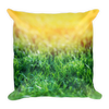 Sunshine In A Field Basic Pillow - BlackKohco