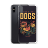 Three Astro Dogs iPhone Case - BlackKohco