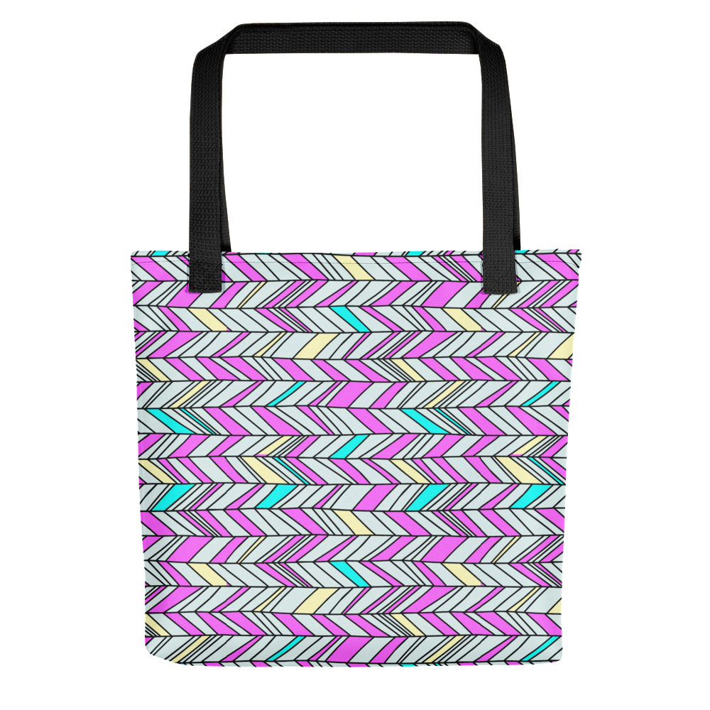 Glorious Zig Zags Tote Bag
