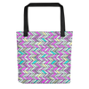 Glorious Zig Zags Tote Bag - BlackKohco