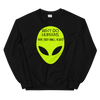 Humans big Heads Unisex Sweatshirt - BlackKohco