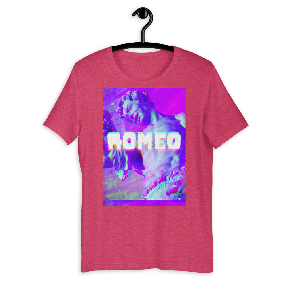 Romeo Short-Sleeve Unisex T-Shirt - BlackKohco