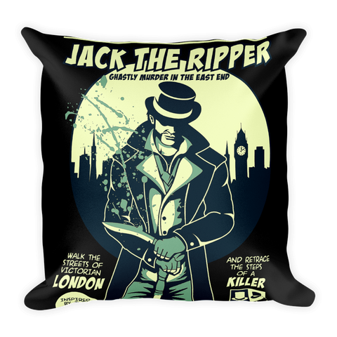 Jack The Ripper Basic Pillow
