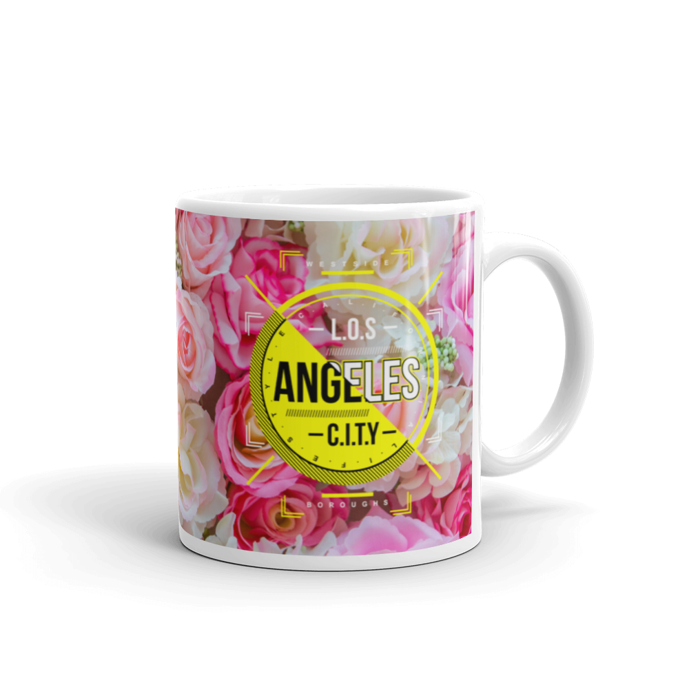 Los Angeles City Mug - BlackKohco