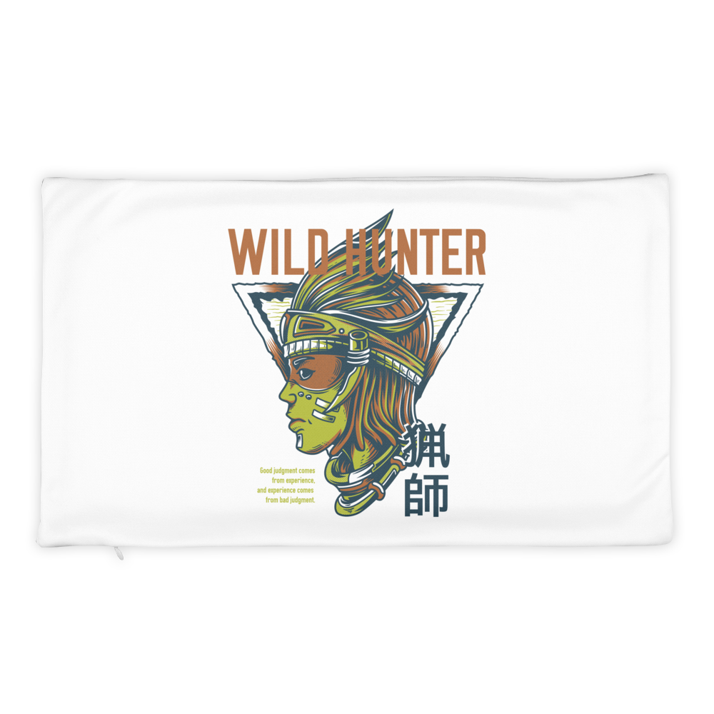Wild Hunter Light Basic Pillow Case only - BlackKohco