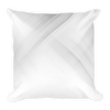 Futuristic geometric background Basic Pillow - BlackKohco
