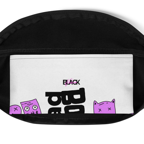 Dead Bored Fanny Pack - BlackKohco