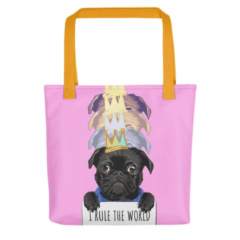 Rule The World Tote Bag