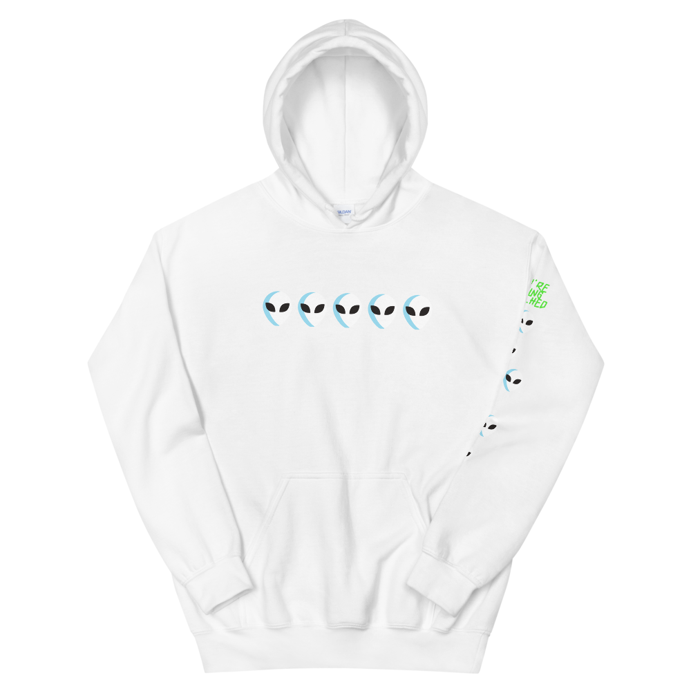 You're being watched Hooded Sweatshirt - BlackKohco