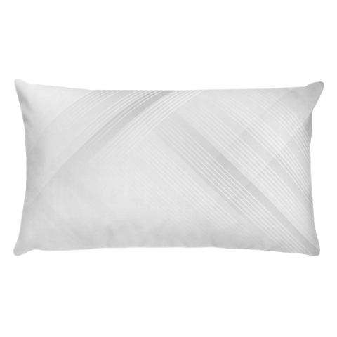 Futuristic geometric background Basic Pillow