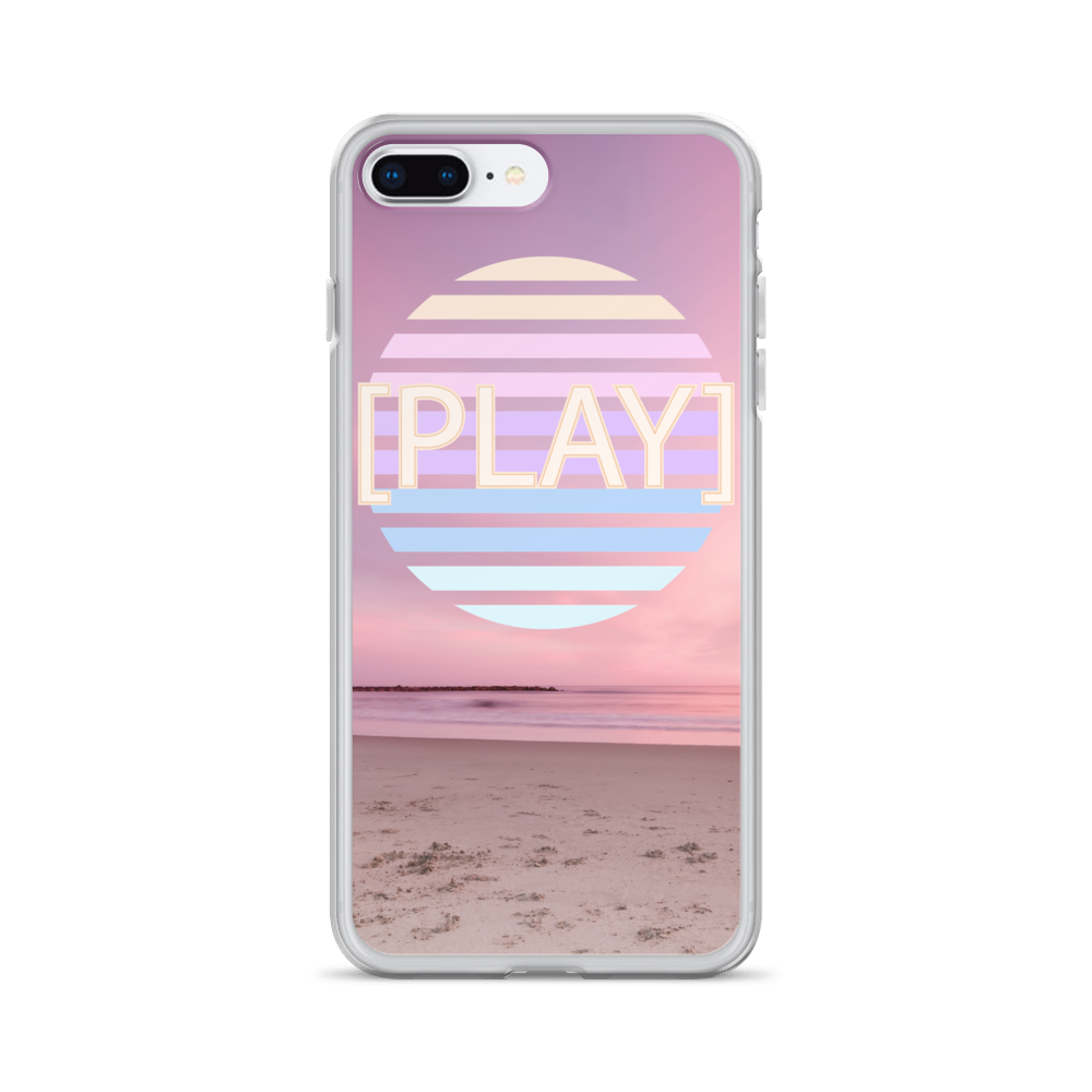 Beach Play iPhone Case - BlackKohco