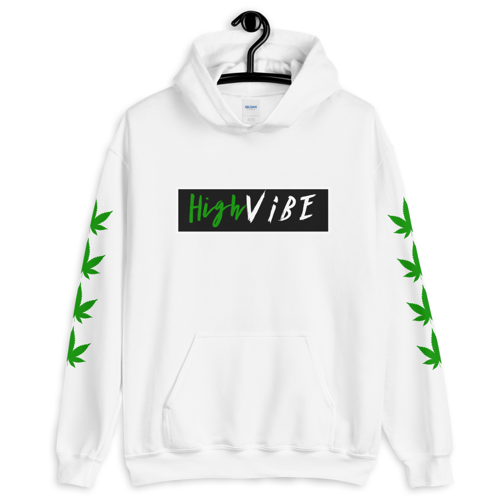 High Vibe Hooded Sweatshirt - BlackKohco