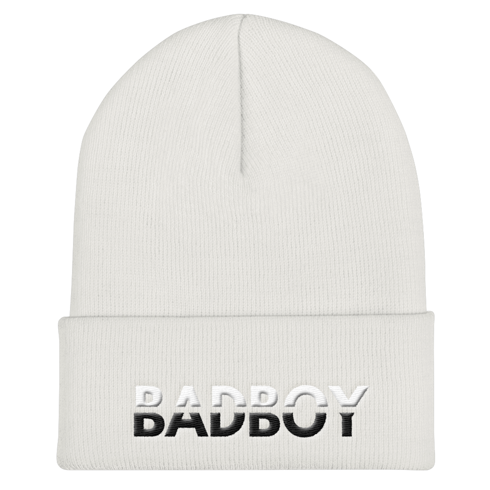 Bad Boy Cuffed Beanie - BlackKohco