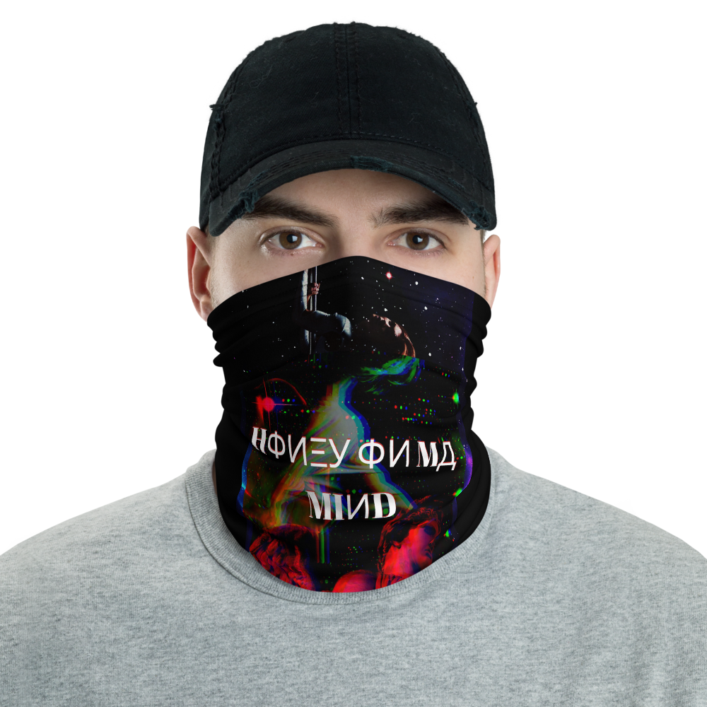 Honey On Ma Mind Neck Gaiter - BlackKohco