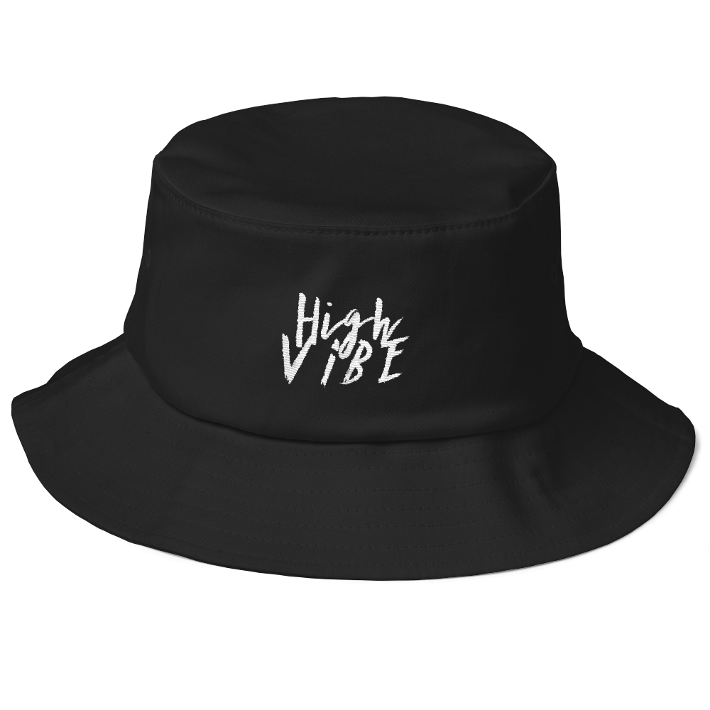 High Vibe Old School Bucket Hat