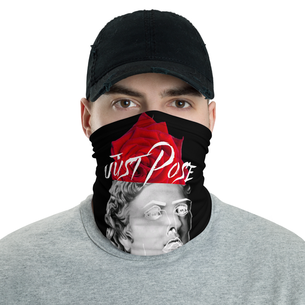 Just Pose Neck Gaiter - BlackKohco