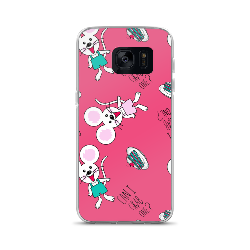 Mouse-Pattern Samsung Case