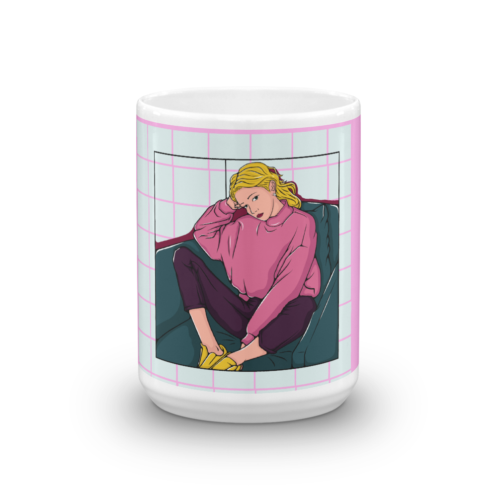 Bored Chilled Mug - BlackKohco