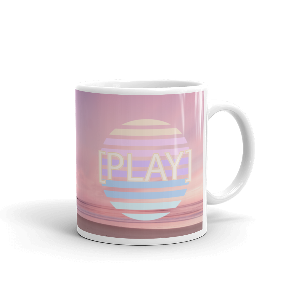 Beach Play Mug - BlackKohco