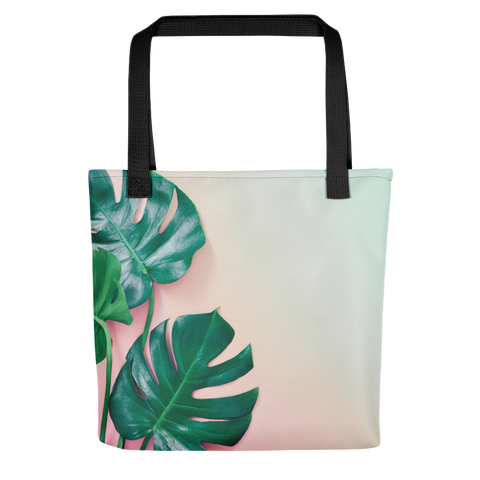 Tropical Leaves Tote Bag