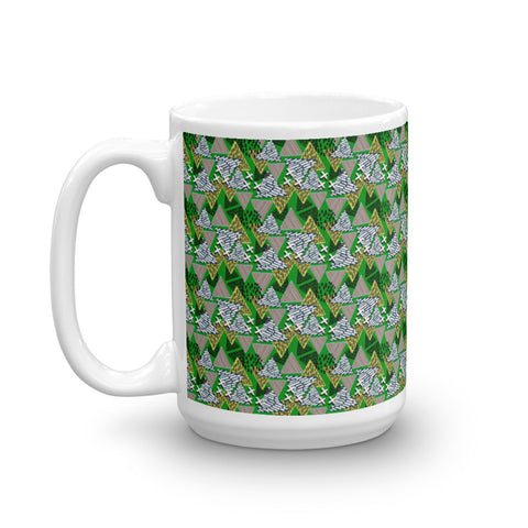 Abstract Of Nachos Mug