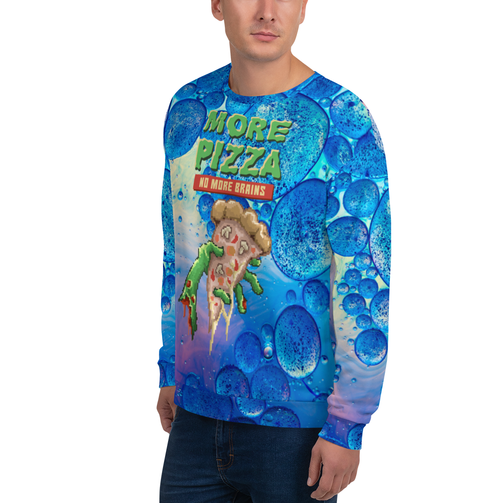 More pizza Unisex Sweatshirt - BlackKohco