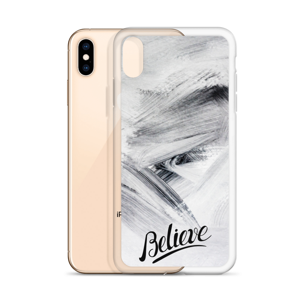 Believe iPhone Case - BlackKohco