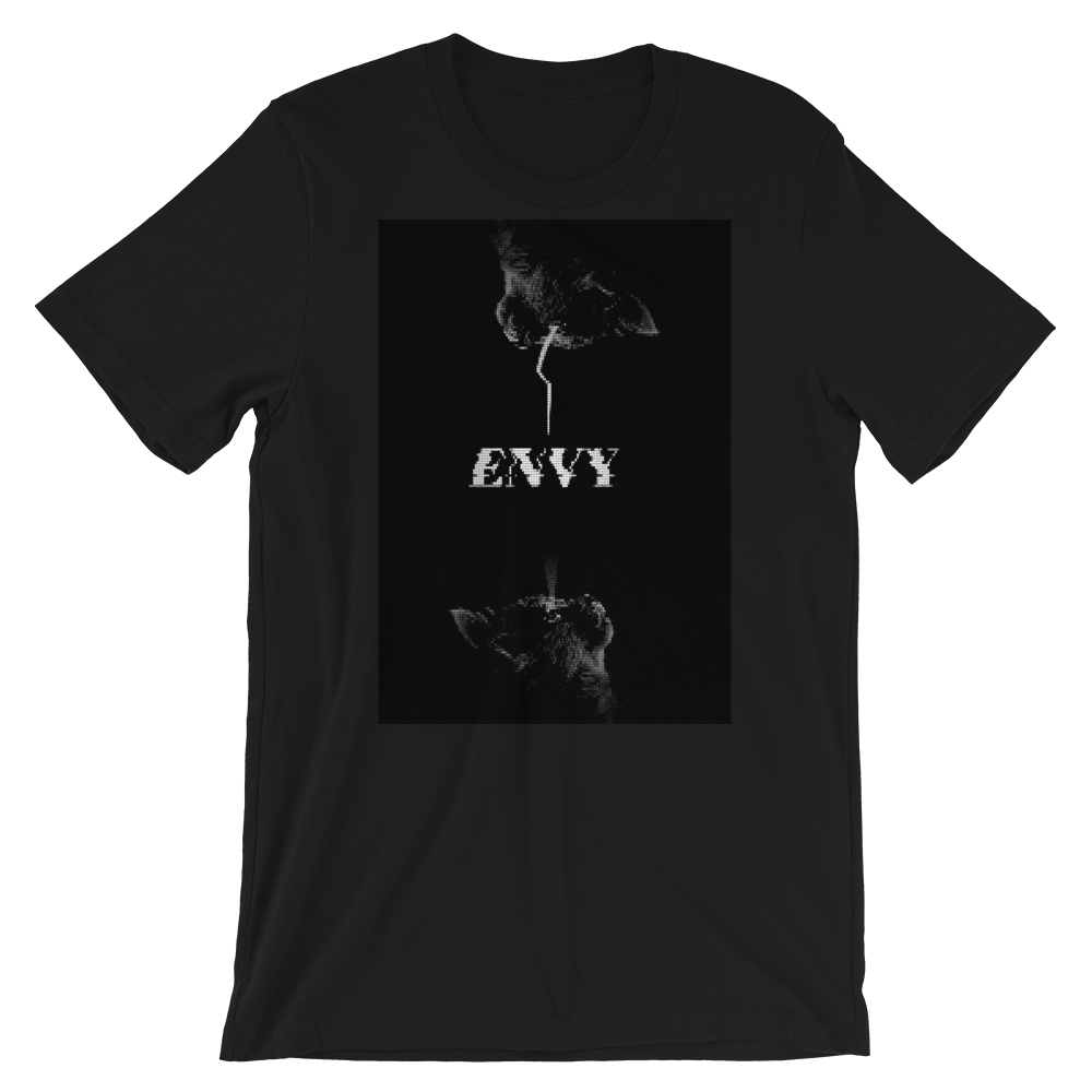 Envy Short-Sleeve Unisex T-Shirt - BlackKohco