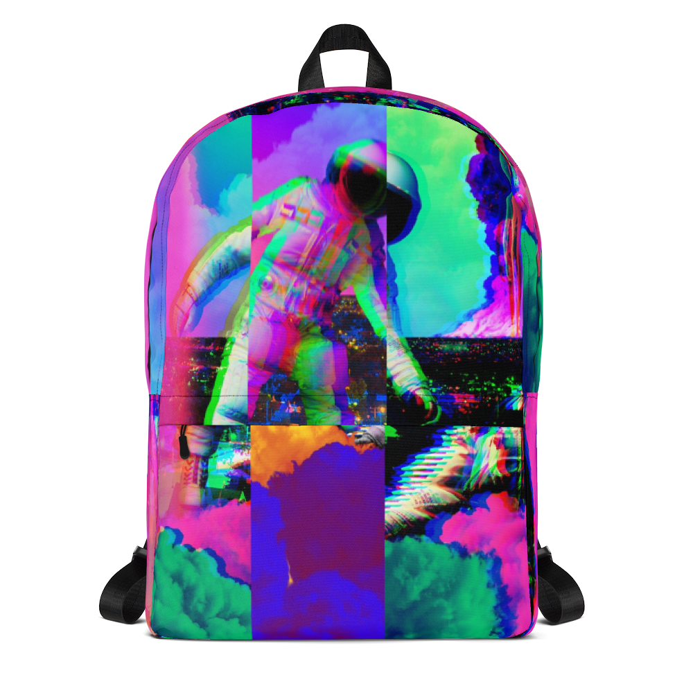 Hectic Space Backpack - BlackKohco