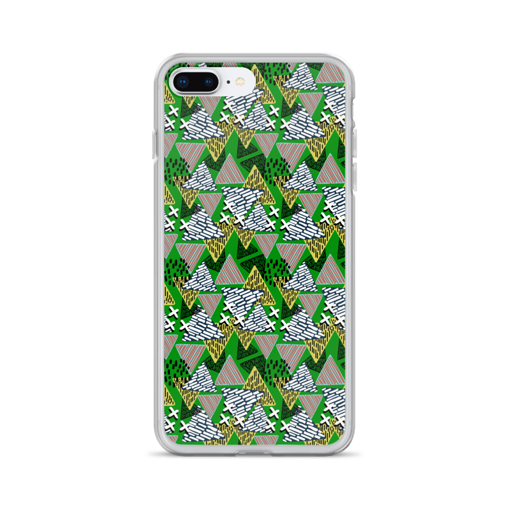 Abstract Of Nachos iPhone Case - BlackKohco